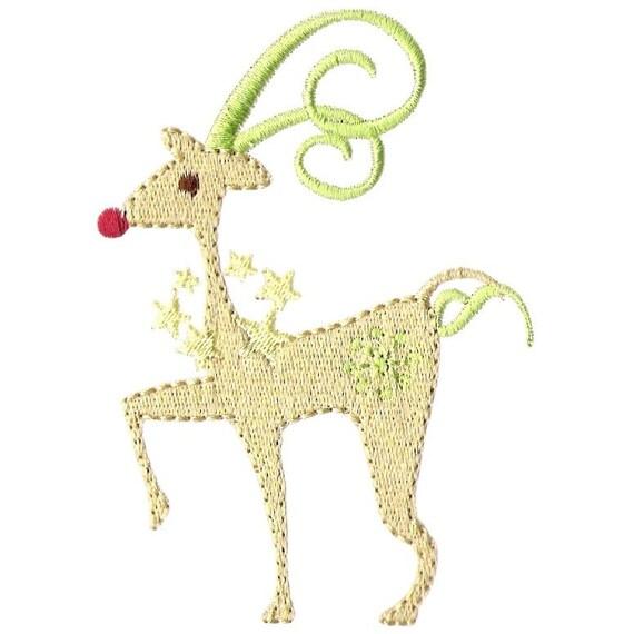 reindeer machine embroidery designs