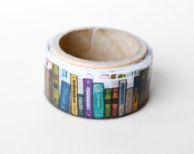 Yano Design Die-Cut Japanese Washi Masking Tape / Books for scrapbooking, packaging, invitation, card, tag making