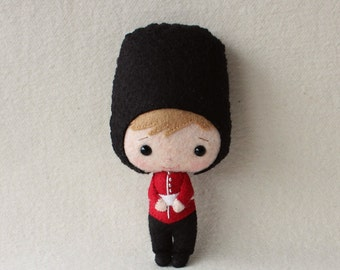 British Palace Guard pdf Pattern - Instant Download