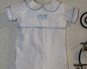 White Personalized with Initials JonJon in Sizes 3 Month- size 5
