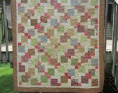 Beach House Large Lap Wall Quilt