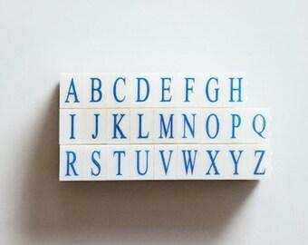 Stamp Set - Big Alphabet (medium)