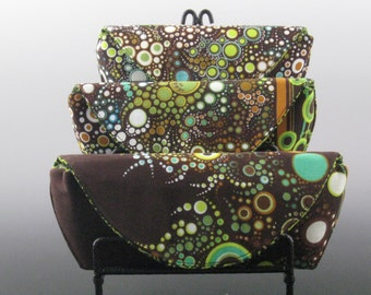 eyeglass case in Nature - Amelia Caruso Effervescence- Made to order