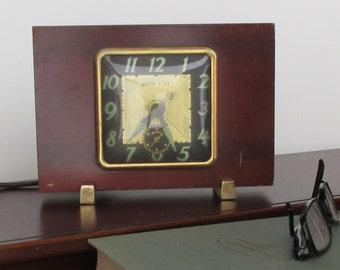 Art Deco Clock, mid century - United Alarm Clock