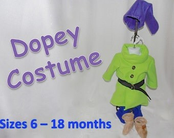 Baby 6, 12 and 18 month Dopey Dwarf Costume from Disney's Snow White