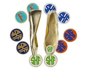 Monogrammed Shoe Clip