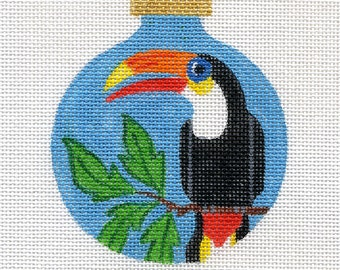 Toucan Needlepoint Ornament - B74 - Jody Designs