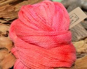 100g Handpainted Bluefaced Leicester Sock Yarn 2 ply- Fizzy Peaches (Batch 359)
