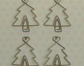 Maya Road Metal Vintage Trinkets - Christmas Tree, Holiday - Paper Clip