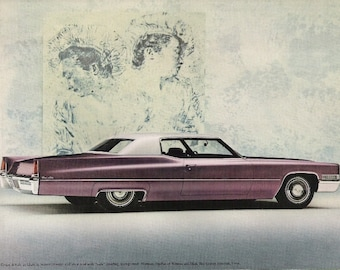 Two Original Advertising Brochures for the 1969 Cadillac