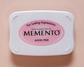 CLEARANCE Angel Pink Memento Dye Ink Pad