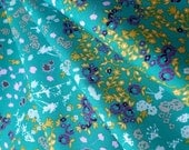 Cotton Quilting Fabric Art Gallery Floret Stains Tealberry Indelible by Katarina Roccella IDL-1224 HALF YARD