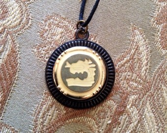 SALE on button necklaces
