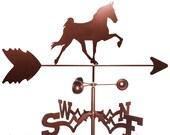Hand Made Tennessee TN Walker Horse Weathervane NEW