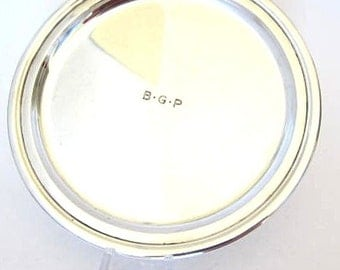 Antique Sterling Silver TIFFANY Round Plate,5.475 TOZ