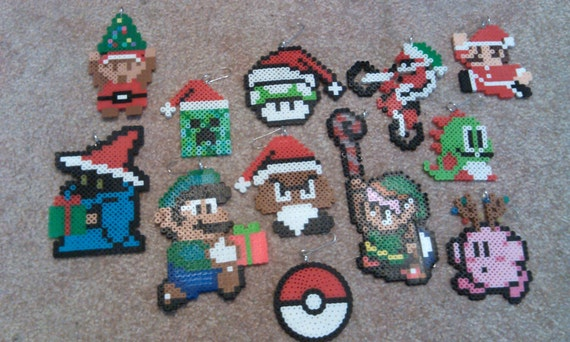 Video Game Christmas Ornaments