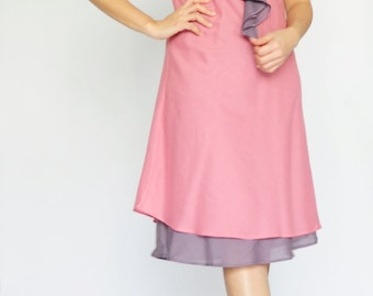 Twist Part II....Pink Cotton dress