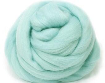 Fine Merino Wool Felt for felting 50g Light Blue Perfect in Wet Felt From Japan ME029