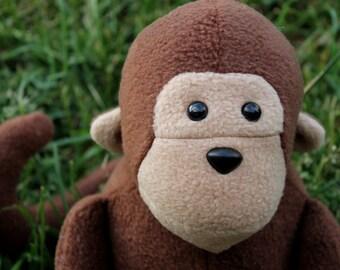 Stuffed Monkey Toy