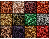 16 Gauge Jump Rings - 1 oz - Pick your color and size!
