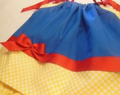 Disney Snow White Inspired Pillowcase Dress  Choose the size NB up to 6yrs