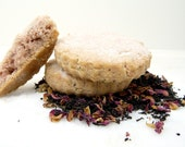 Earl Grey Tea with Roses Shortbread - Lady Grey Cookies - Perfectly light, perfect for Mother's Day