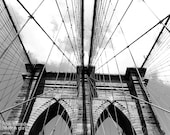 The Brooklyn Bridge (photograph, color or black & white, various sizes)