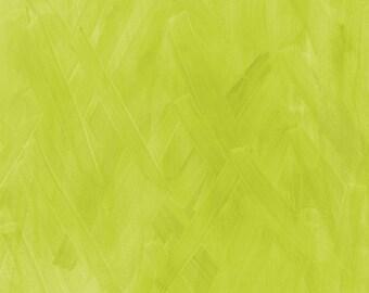 Interlace Blender New Shoots by Brandenburg for Frond Design Studios - Green Quilt Fabric