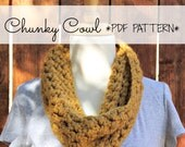 DIGITAL FILE Chunky Cowl PATTERN