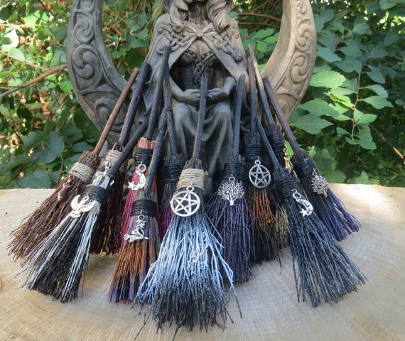 Mini Witches Broom For Travelling Protectionmini Broom