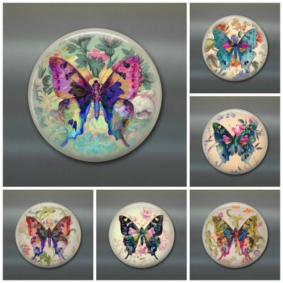 Https Www Etsy Com Listing 280805714 Bohemian Room Decor Butterfly Art