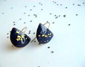 """handmade enamel jewelry-earrings """"petals 16"""""""