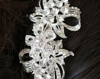 Bridal Hair Comb Wedding Hair Comb  Rhinestone Hair Comb Crystal Hair very Stunning