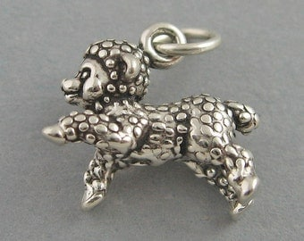 Sterling Silver Charm Pendant 3D LAMB Baby Sheep 4257