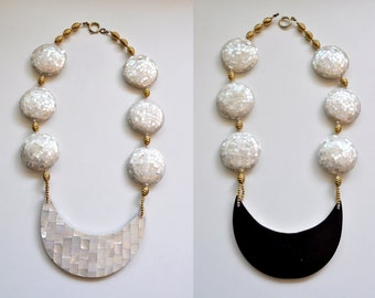 Chunky 80s Statement Necklace