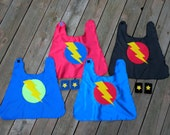 Baby SUPERHERO Cape Set-Superhero Cape PLUS Baby hero Wrist Bands-Birthday gift - Photo prop - Baby Costume