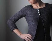 HEMATITE Cardigan Knitting Pattern PDF