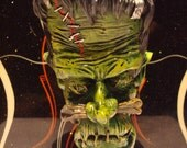 Green Shrunken Head Shift Knob