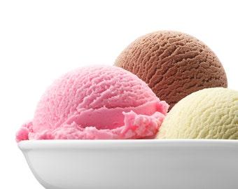 BODY BUTTER ~ Neapolitan Ice Cream Body Butter 98 Percent Natural 8 oz