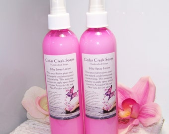 BODY SPRAY ~ Cherry Berry Lemonade Body Spray 8 oz Bottle of Moisturizing Body Spray Lotion