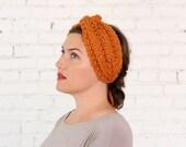 COSY ROSIE EARWARMER | 24 Color Choices | Chunky Knit Cozy Turban Earwarmer Headband