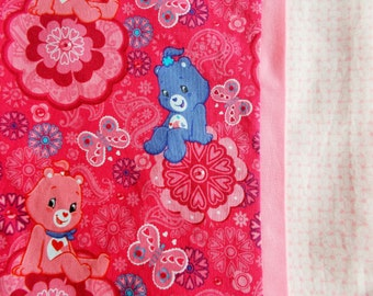 Clearance/Care Bear Children or travel Pillow Case