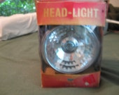 Chrome Headlight for Bicycle in Original Box President 490 Head-Light