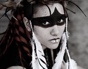 War Paint, Native American Indian Inspire Photography Art