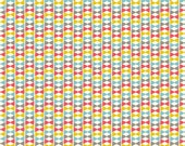 SALE 1/2 Yard Organic Cotton Fabric - Birch Frolic - Bowtie Girl