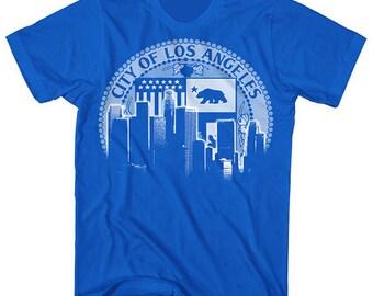 Los Angeles City of LA skyline shirt by Graphic Villain