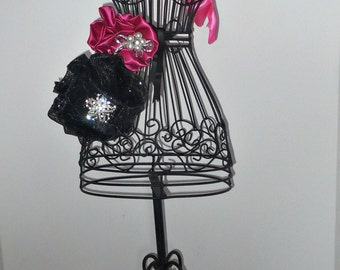 Bachelorette Party dress form centerpiece for sweet 16, Mitzvah Parisian  centerpiece   themed Bridal shower and Baby  Shower.