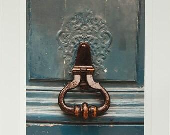 8x10 photography: Blue Door