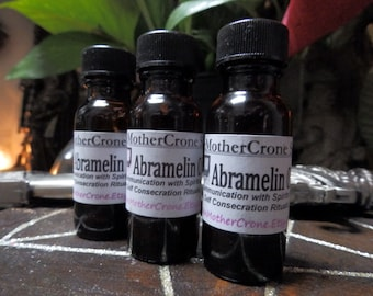 Abramelin Oil Wicca Pagan Spirituality Religion Ceremonies Hoodoo Metaphysical MaidenMotherCrone