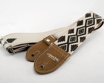 Native American Inspired Guitar Strap - Limited Edition - Vegan